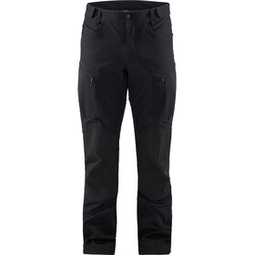 Haglöfs Rugged Mountain Pantaloni Uomo, true black solid long